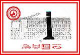 Клавіатура Asus EEE PC 1011 1015 1016 1018 1015P 1015PEM X101 чорна без рамки (горизонтальний ENTER) RUUS, фото 2