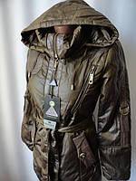 Распродажа осенних курточек на поясе