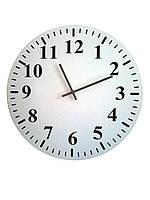 """настенные часы  круглые """"Classic"""" без рисунка"""