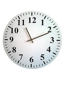 Настінні годинники Класика круглі без малюнка