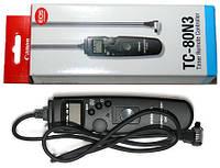 Пульт ДУ с таймером и LCD TC-80N3 для CANON 5D, 5D Mark II, 5D Mark III, 7D, 6D, 10D, 20D, 30D, 40D, 50D