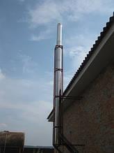 Установка дымоходов для твердотопливных, газовых котлов, гарантия, качество, оплата после выполнения работ