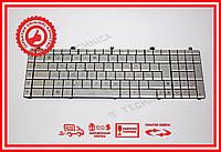 Клавиатура Asus N55 N55SF X5Q X5QS серебристая (N75 version) RU/US