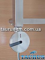 Круглый дизайнерский электроТЭН с электронным регулятором + таймер 2 ч. (Польша) хром, разборной, поворотный
