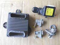 Блок управления двигателя ЕБУ шевроле авео 1.5