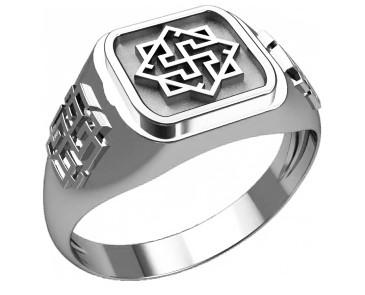 Кольцо серебряное Валькирия и Родимич 30256