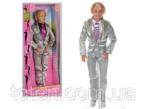 """Кукла Кен в костюме с галтуком 29 см DEFA 8192 """"Джентльмен"""""""