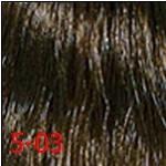 5/03 світлий коричневий натуральний золотистий INDOLA PROFESSIONAL Фарба для волосся 60 мл., фото 3