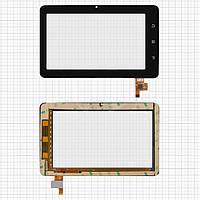Touchscreen (сенсорный экран) для Impression ImPAD 0411, 12 pin, оригинал (черный)