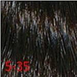 5/35 світлий коричневий золотистий махагон INDOLA PROFESSIONAL Фарба для волосся 60 мл., фото 3