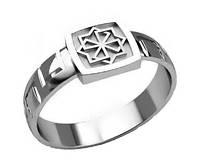 Кольцо серебряное Оберег Молвинец 30295