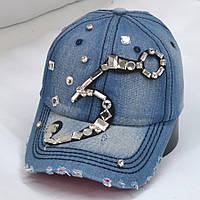 Кепка  жіноча джинсова