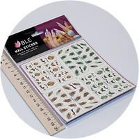 Слайдер дизайн для ногтей BLE bop-300-303, фото 1