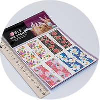 Слайдер дизайн для ногтей BLE c156-159, фото 1