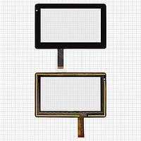Touchscreen (сенсорный экран) для Onda V701/Vi10, 30 pin, оригинал (черный)