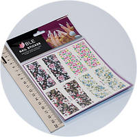Слайдер дизайн для ногтей BLE c148-151, фото 1
