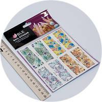 Слайдер дизайн для ногтей BLE c116-119