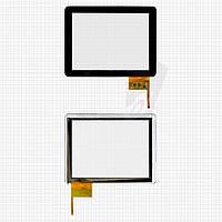Touchscreen (сенсорный экран) для Flytouch H08S, 12 pin, черный, оригинал