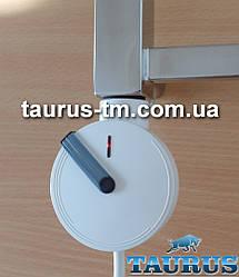 Белый круглый дизайнерский электроТЭН с электронным регулятором + таймер 2 ч. Польша, разборной, поворотный