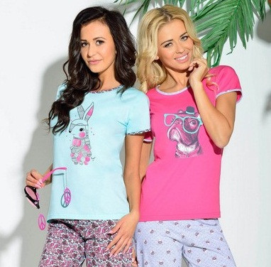 Пижамы женские хлопковые