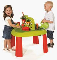 Столик для игр с песком и водой Маленький садовник