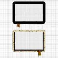 Touchscreen (сенсорный экран) для Prestigio MultiPad 10.1 4QUNTUM 3G, 6 pin, оригинал (черный)