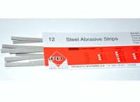 STEEL ABRASIVE STRIPS - Штрипсы стальные абразивные (односторонние 3 мм, 12шт)