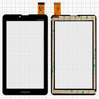 Сенсорный экран (touchscreen) для Explay Hit, 30 pin, черный, оригинал