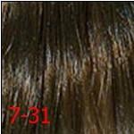 7/31 середній русявий золотистий попелястий INDOLA PROFESSIONAL Фарба для волосся 60 мл., фото 3