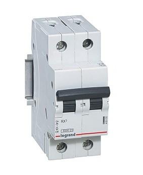Автоматический выключатель RX3 2п 25А С, 4,5кА