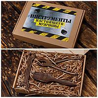 """Шоколадный набор """"Инструменты-3"""".  Необычный набор для мужа, фото 1"""