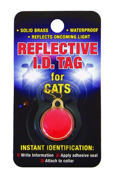 Coastal ID Tag брелок светоотражающий для адреса на ошейник для котов