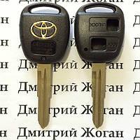 Корпус ключа Toyota (Тойота) 2 кнопки, лезвие TOY41R