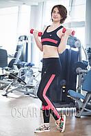 Костюм для фитнеса (верх (топ) + низ (лосины)), фото 1