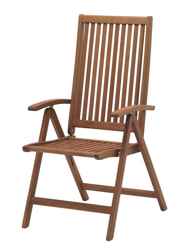 """Раскладное кресло из дерева """"VARB"""""""