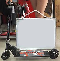 Самокат TILLY BT-KS-0040 2-х колесный, алюминевый детский самокат