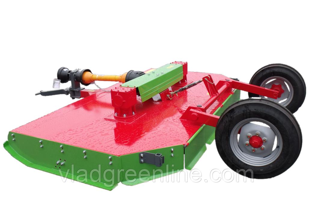 Садовая косилка-измельчитель RG-300 (два ротора, толщина веток до 5 см) Warka (Польша)