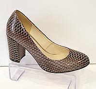 Туфли женские кожаные Nivelle 1527
