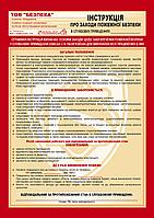 Инструкция по ПБ. Знаки пожарной безопасности