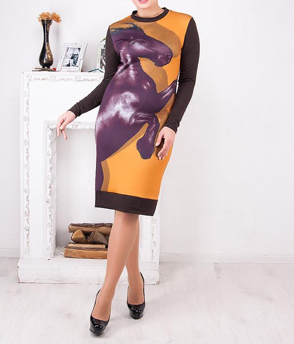 """Женское платье больших размеров """"Арсея"""" от 50 до 62"""