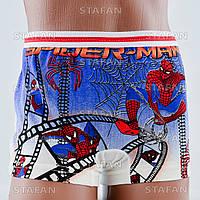 Трусы боксеры Spiderman на мальчика Турция. FTS B 03-01. Размер 4-6 лет. В упаковке 6 штук