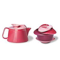 Чашка и заварочный чайник PO: Selected Rose Teapot Set (red)