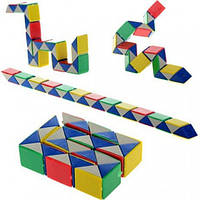 Головоломка змейка кубика Рубика, фото 1