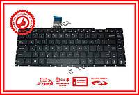 Клавиатура Asus X401 X401A X401U F401 F401A F401U черная без рамки RU/US