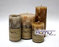 Свеча цилиндрическая арома, диаметр 75 мм, высота 200 мм