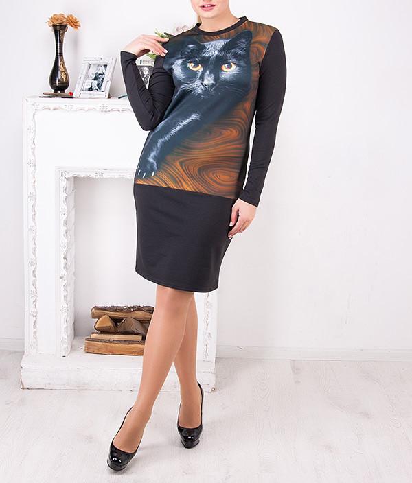 """Женское платье больших размеров """"Кэт"""" от 50 до 62"""
