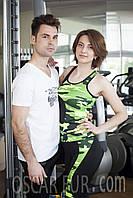 Костюмы для фитнеса (спортивная майка + лосины), фото 1