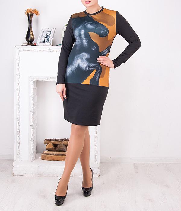"""Женское платье больших размеров """"Алси"""" от 50 до 62"""