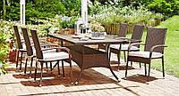 """Набор мебели для улицы """"Perfecto"""", стол 200 см и 4 кресла"""