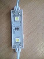 Светодиодный модуль SMD5050 2 leds 60х14мм